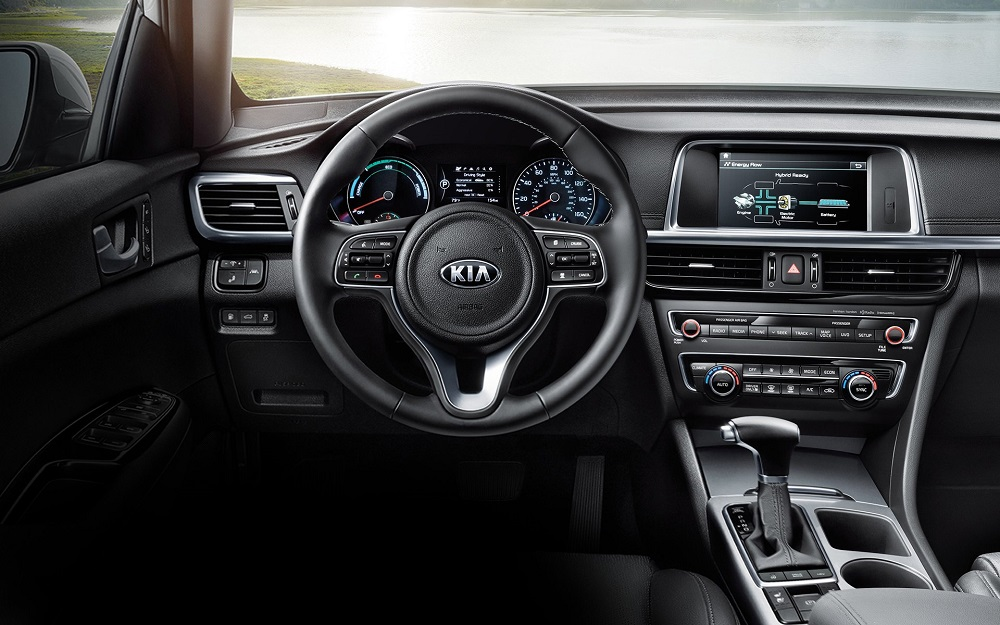 Detroit MI - 2020 KIA Optima Hybrid's Interior