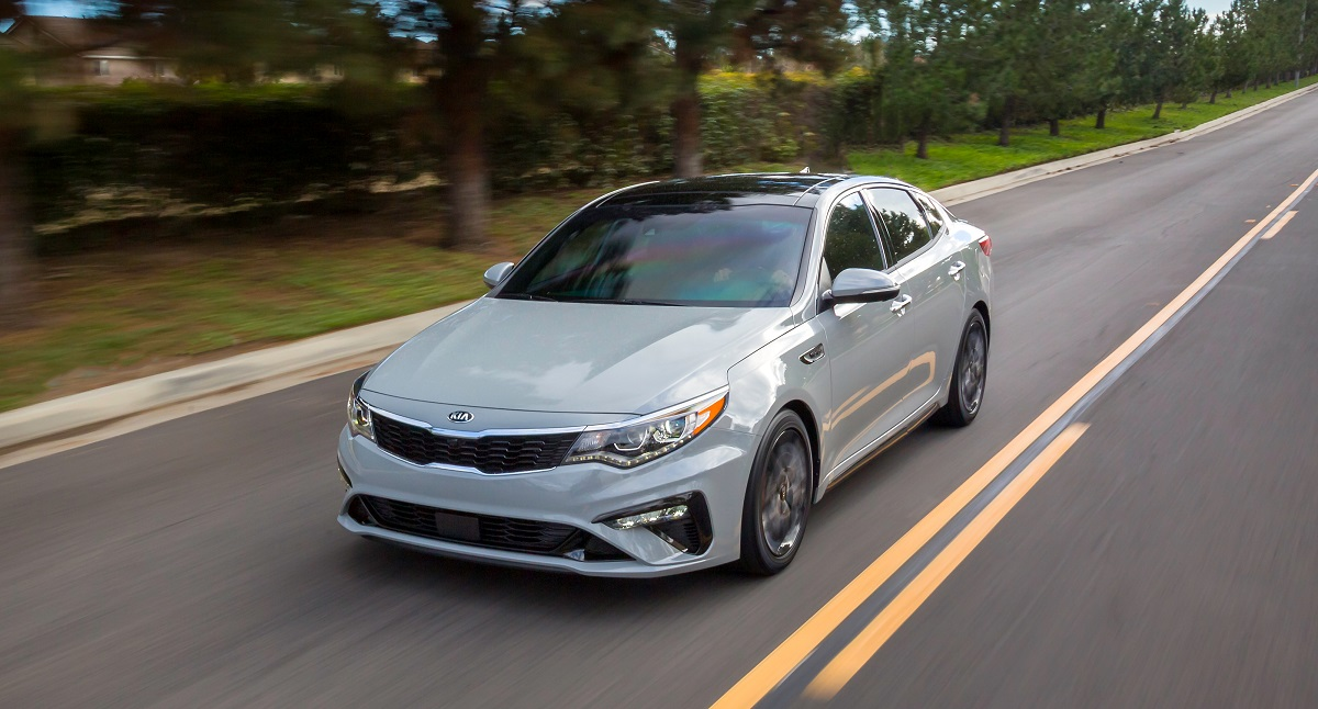 Greensboro NC - 2019 Kia Optima's Exterior