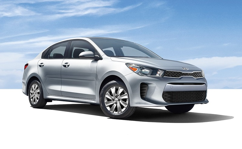 Detroit Michigan - 2019 Kia Rio's Exterior