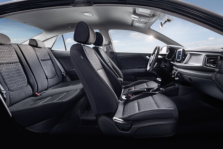 Detroit Michigan - 2019 Kia Rio's Interior