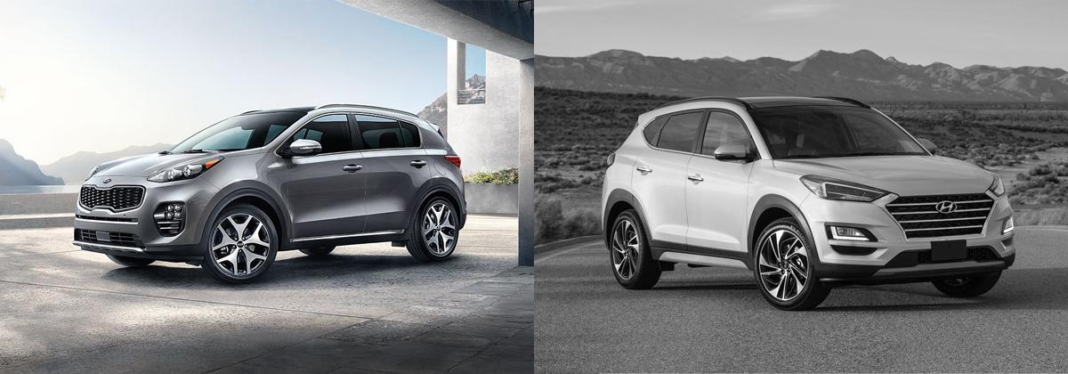 2019 Kia Sportage Vs 2019 Hyundai Tucson In Burlington Nc