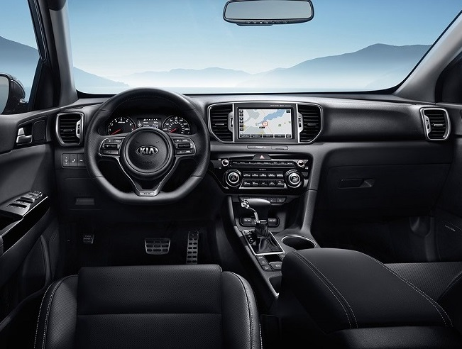 Detroit Michigan - 2019 Kia Sportage's Interior