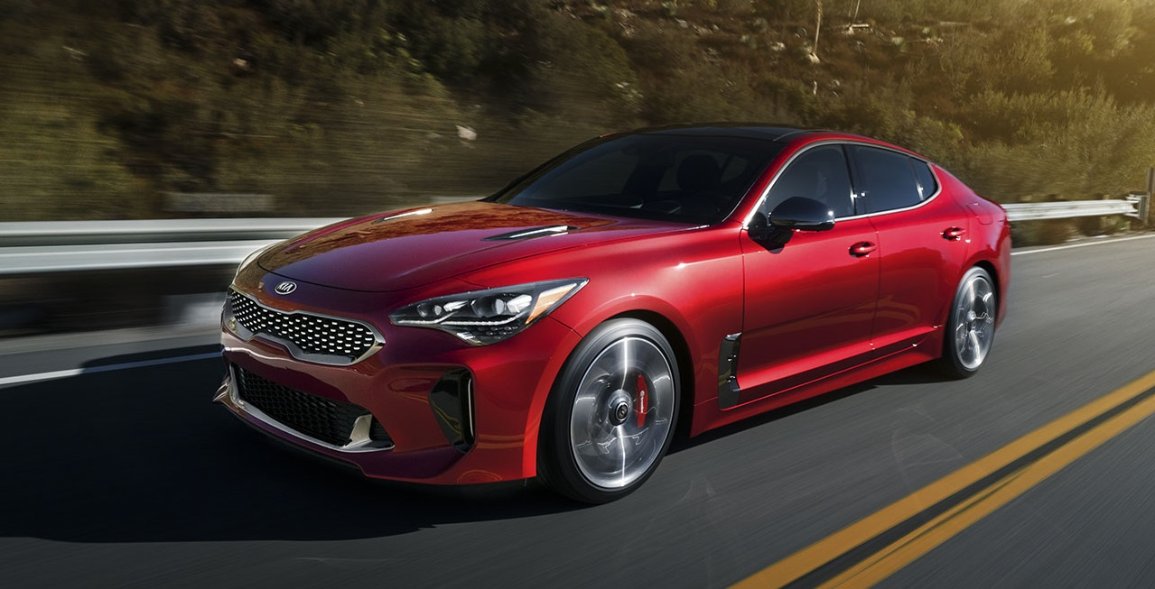2019 KIA Stinger Lease and Specials in Greensboro North Carolina