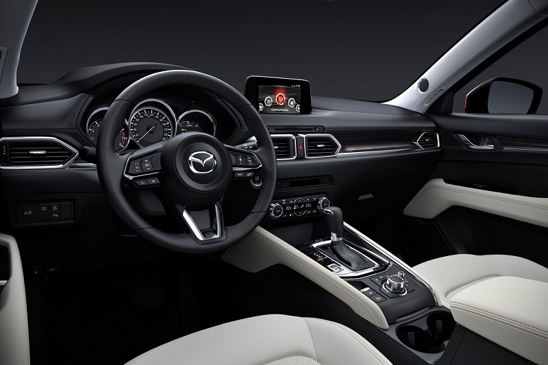 North Carolina - 2019 Mazda CX-5 Diesel's Interior