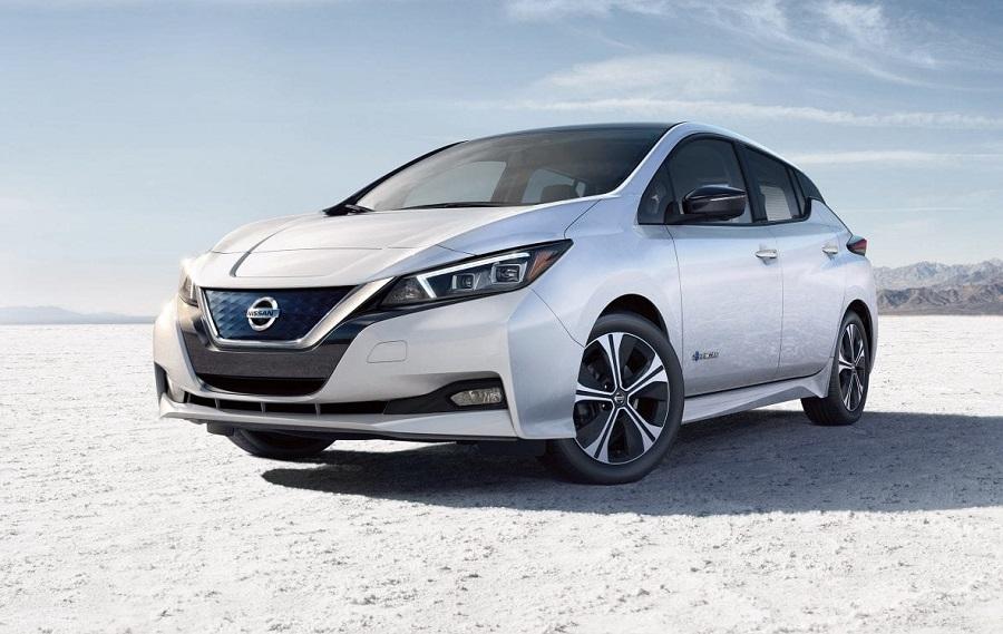 Exterior 2019 Nissan LEAF near Tampa Bay FL