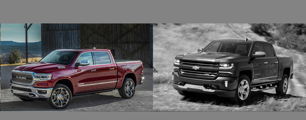 2019 RAM 1500 vs 2018 Chevrolet Silverado in Albuquerque NM