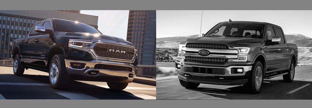 2019 RAM 1500 vs 2018 Ford F-150 in Albuquerque NM