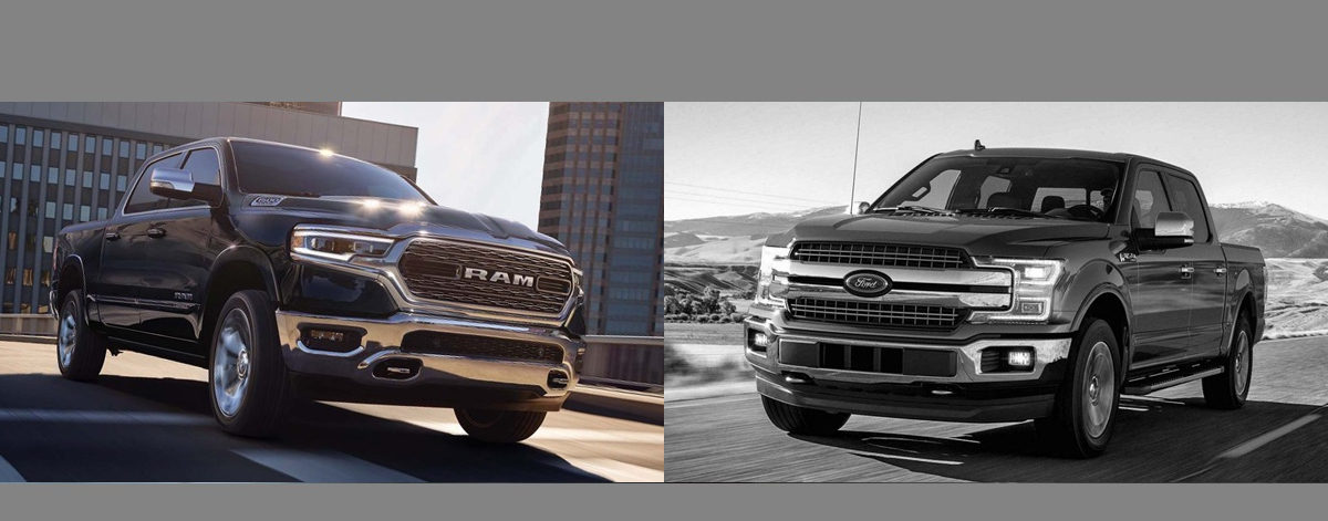 2019 RAM 1500 vs 2019 Ford F-150 near Fort Wayne Indiana