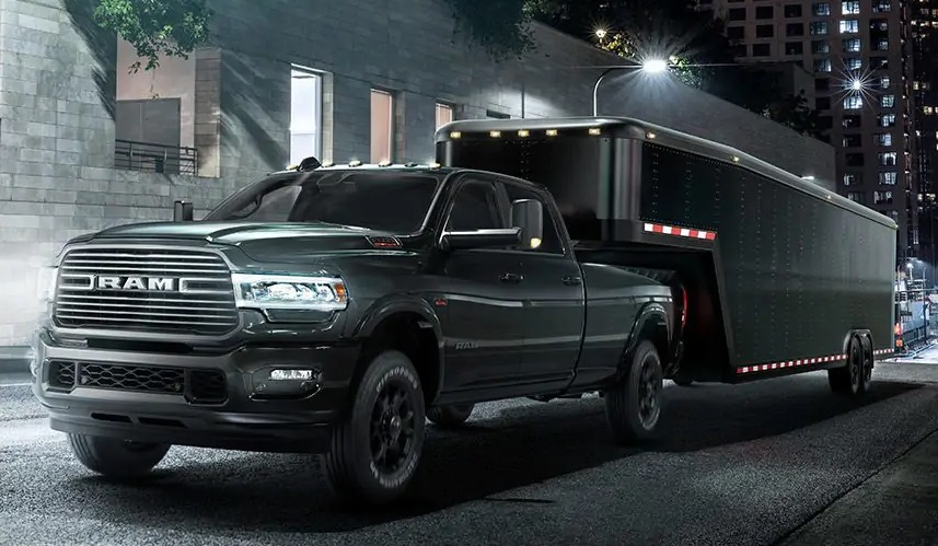 The most capable and luxurious heavy-duty pickup 2019 RAM 2500 Crew Cab Big Horn near El Paso TX