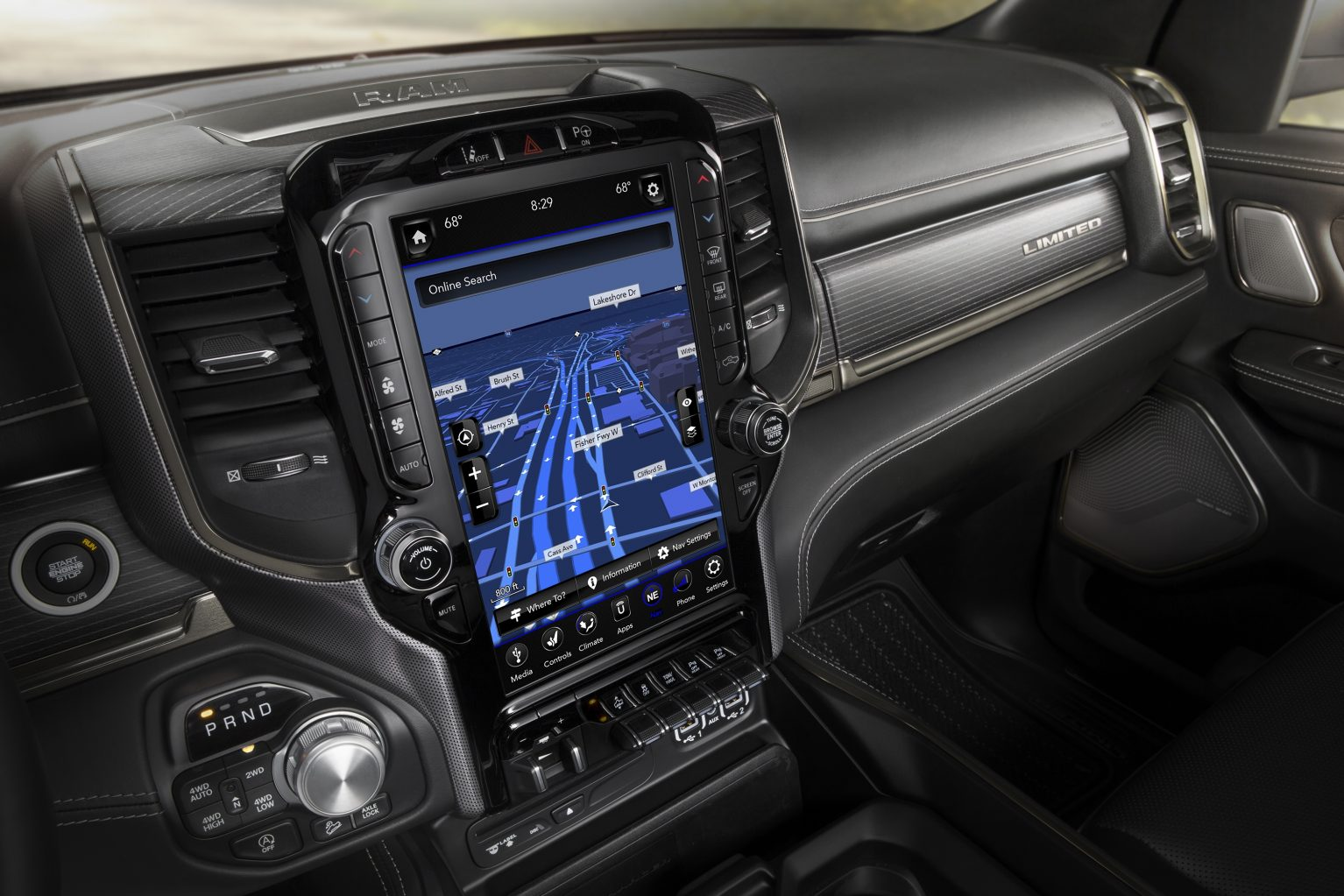 Dubuque IA - 2019 RAM 2500 Interior