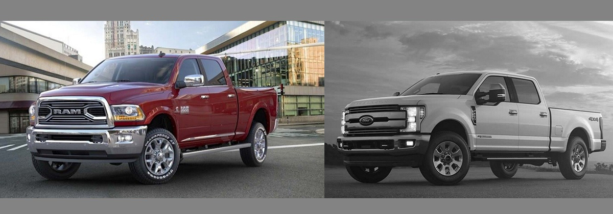 2019 RAM 2500 vs 2018 Ford Super Duty in Albuquerque New Mexico