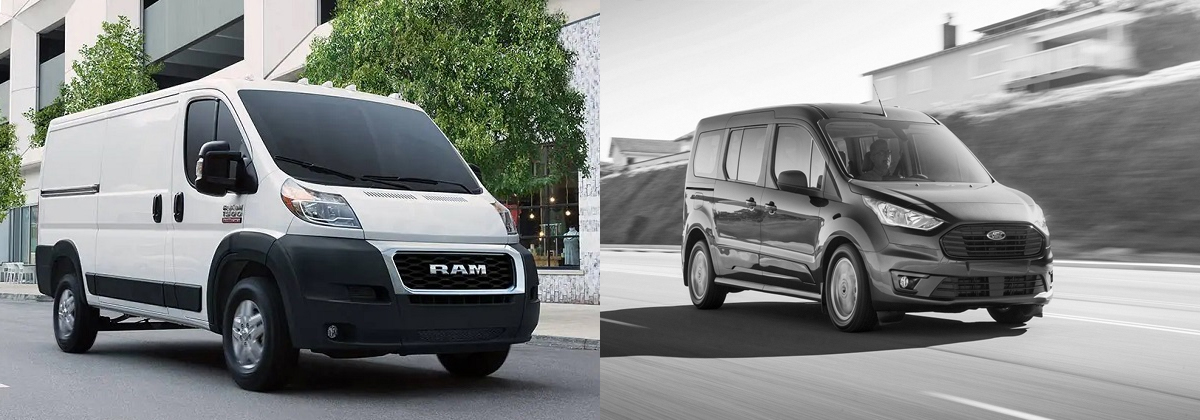 2019 RAM Promaster vs 2019 Ford Transit in Albuquerque New Mexico