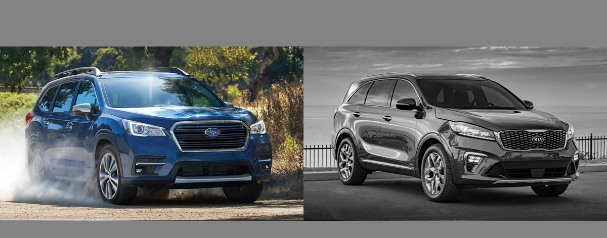 2019 subaru ascent vs 2019 kia sorento in boulder co