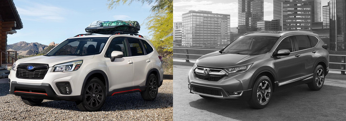 2019 Subaru Forester vs 2019 Honda CR-V in Boulder CO