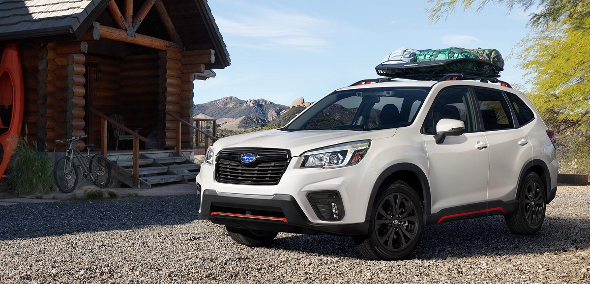 Test Drive 2019 Subaru Forester near Louisville CO