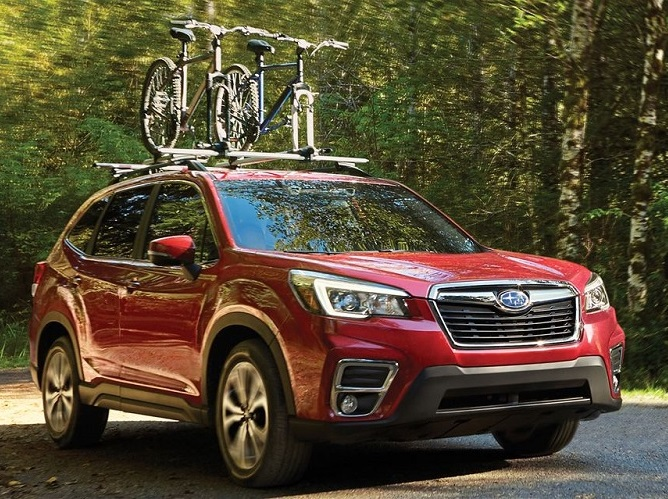 Glassman Collision Center in Southfield Michigan - 2019 Subaru Forester