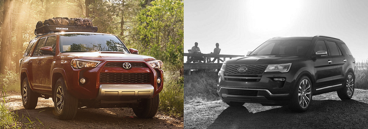 2019 Toyota 4Runner vs 2020 Ford Explorer - Tarbox Toyota