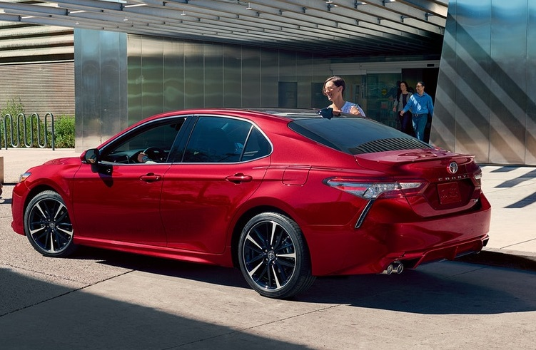 North Kingstown RI - 2019 Toyota Camry's Exterior
