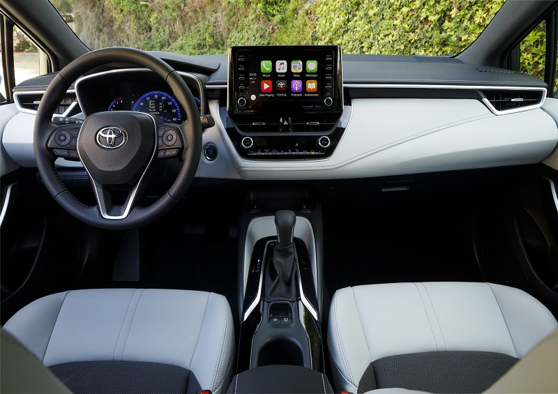 North Kingstown Rhode Island - 2019 Toyota Corolla's Interior