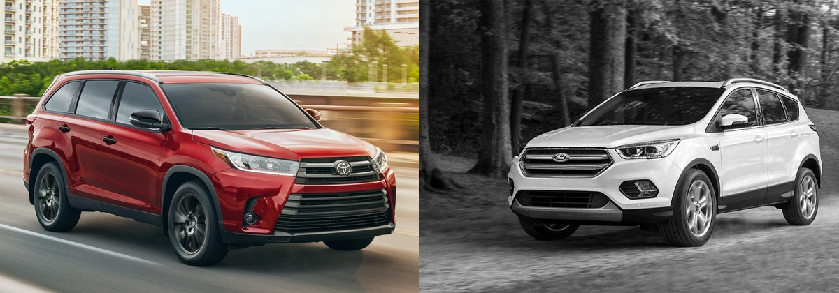 2020 Toyota Highlander vs 2019 Ford Escape - Tarbox Toyota