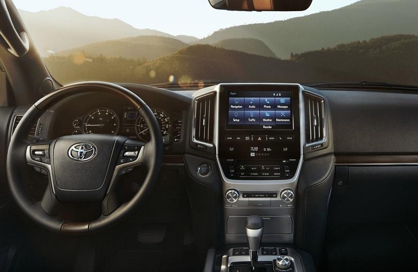 Cranston RI - Toyota Land Cruiser's Interior