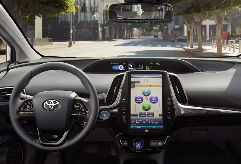 North Kingstown RI - 2019 Toyota Prius's Interior