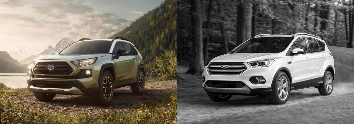 2019 Toyota RAV4 vs 2019 Ford Escape - North Kingstown RI
