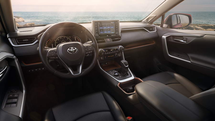 North Kingstown RI - 2019 Toyota Rav4's Interior