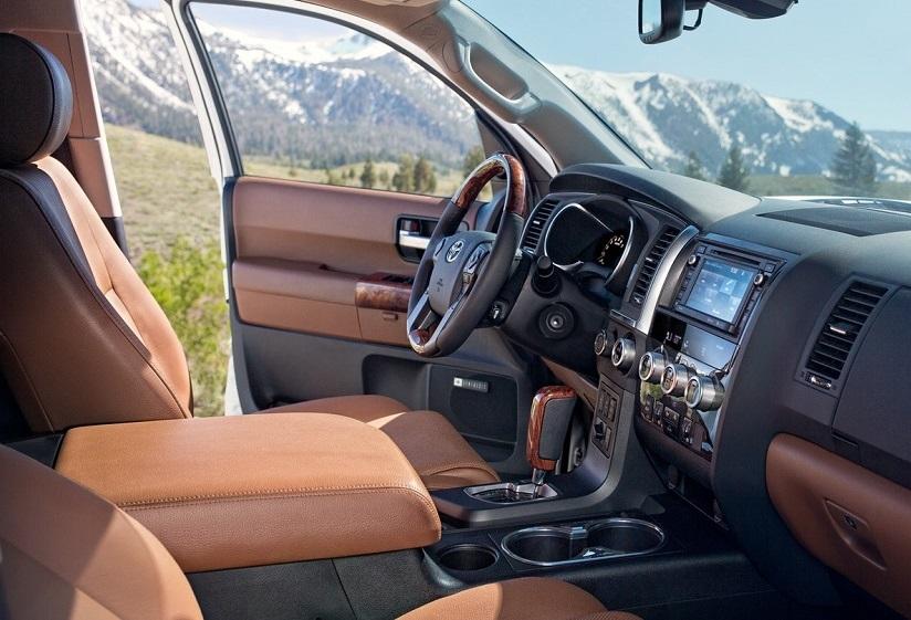 North Kingstown RI - 2019 Toyota Sequoia's Interior