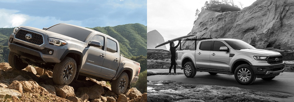2019 Toyota Tacoma vs 2019 Ford Ranger - North Kingstown RI