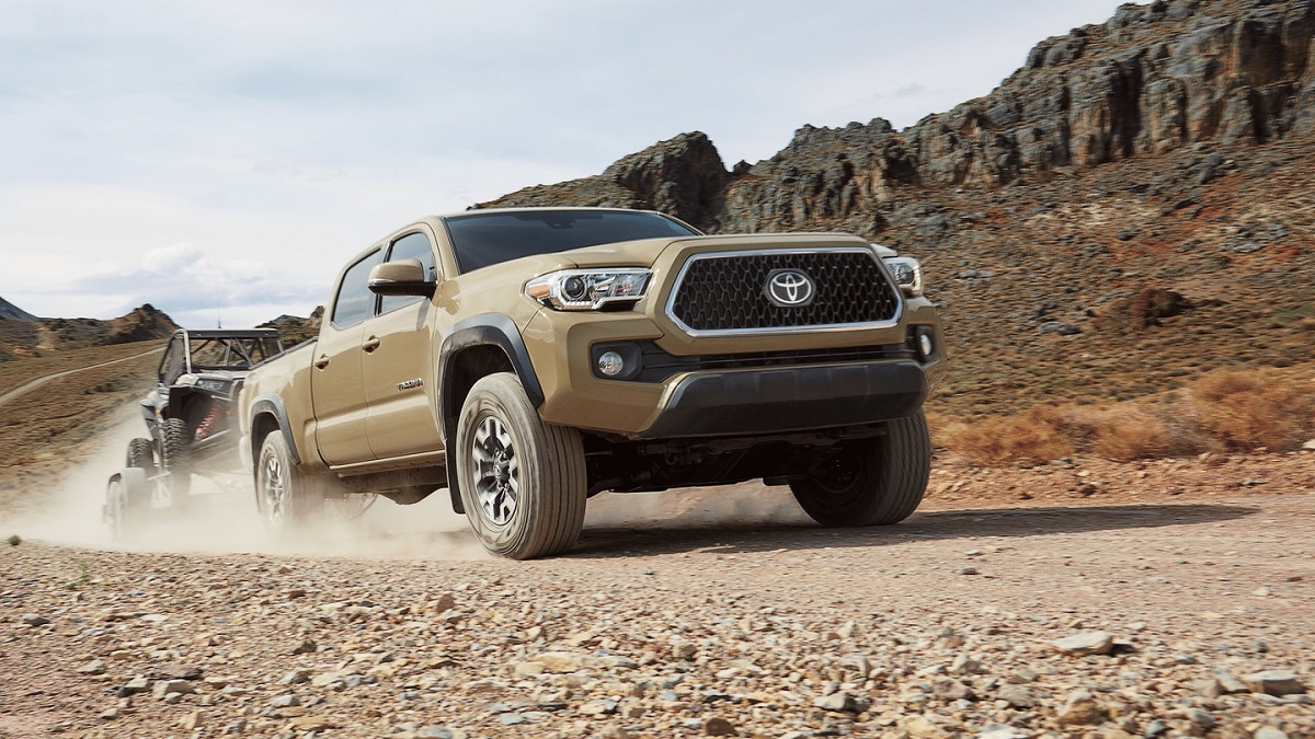 North Kingstown RI - 2019 Toyota Tacoma's Exterior