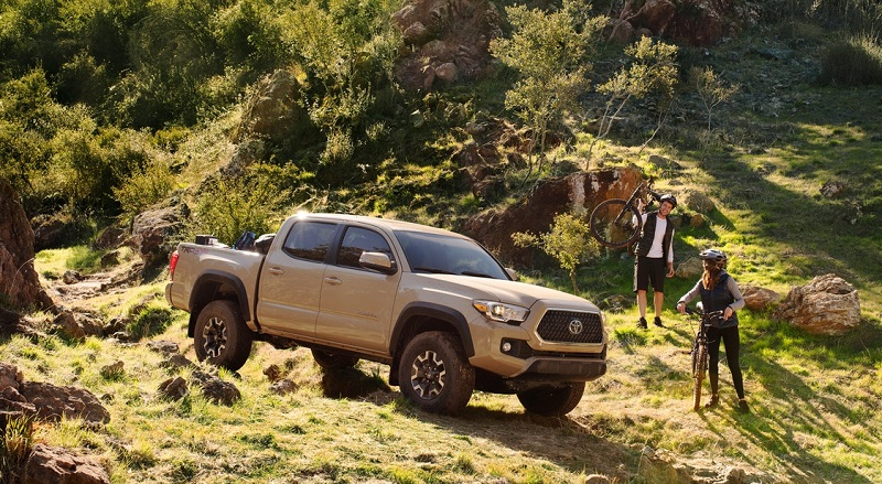 2020 Toyota Tacoma vs 2020 Chevrolet Colorado - Shreveport LA
