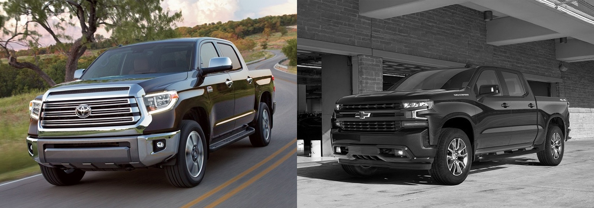 2019 Toyota Tundra vs 2019 Chevrolet Silverado - North Kingstown RI