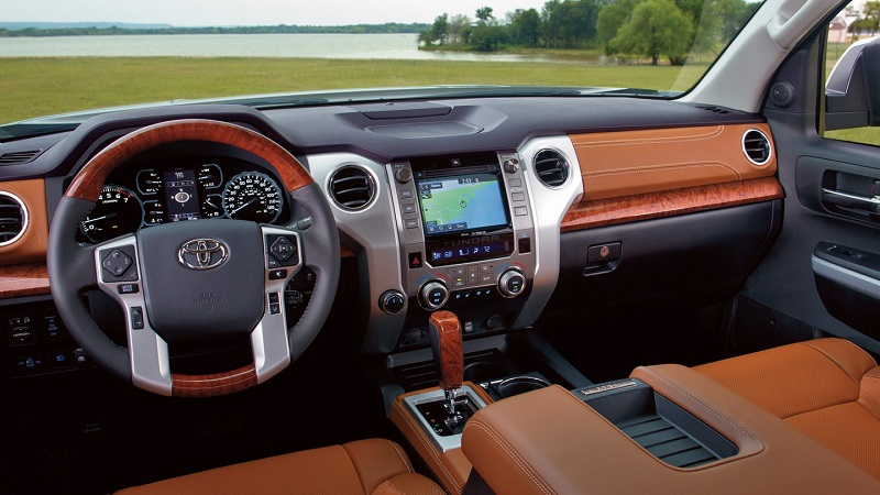 North Kingstown RI - 2019 Toyota Tundra's Interior