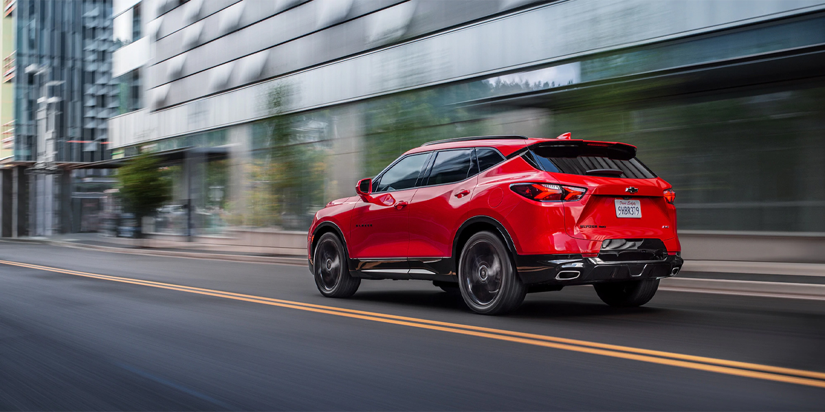 Dubuque IA - 2020 Chevrolet Blazer Overview