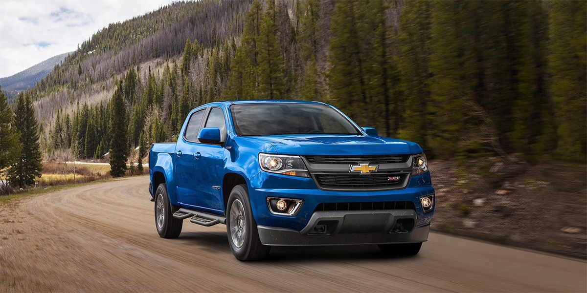 Experience the 2020 Chevrolet Colorado in Maquoketa IA
