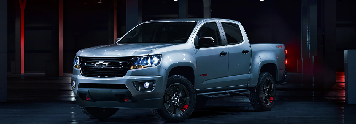Difference between the 2020 Chevrolet Colorado Trim Levels