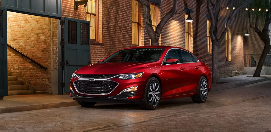 2020 Chevrolet Malibu near Dubuque IA