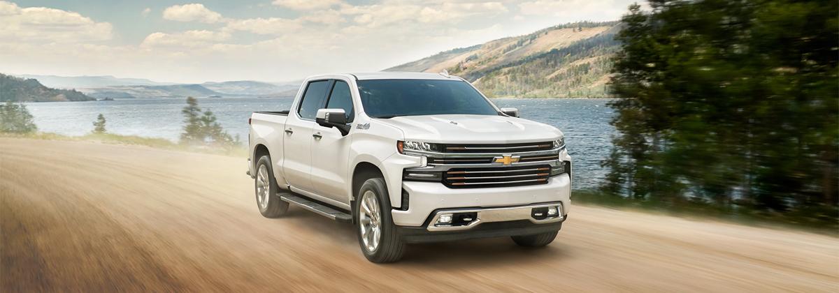What are the 2020 Chevrolet Silverado trim levels