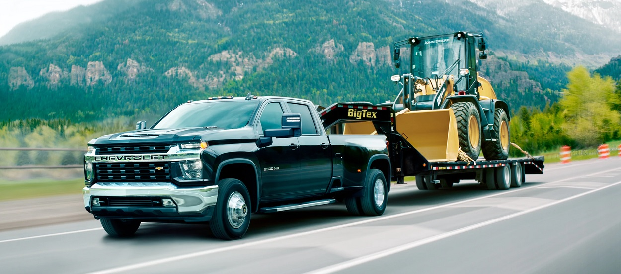 Difference between the 2020 Chevrolet Silverado 3500 Trim Levels