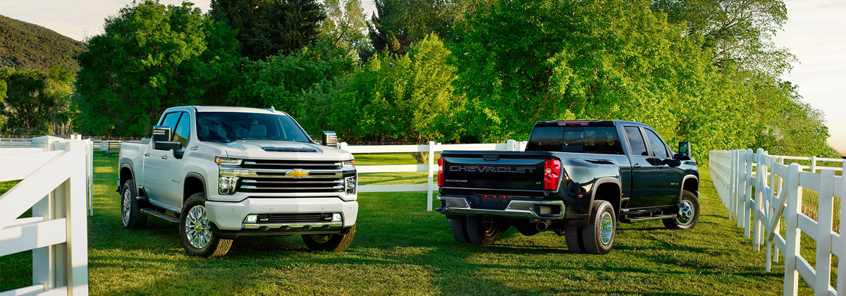 Difference between the 2020 Chevrolet Silverado 2500 Trim Levels