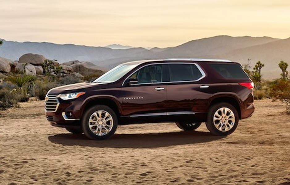 Lancaster OH - 2020 Chevrolet Traverse's Overview