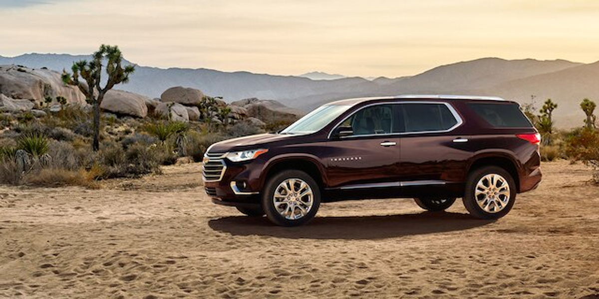 Hutto TX - 2020 Chevrolet Traverse's Overview