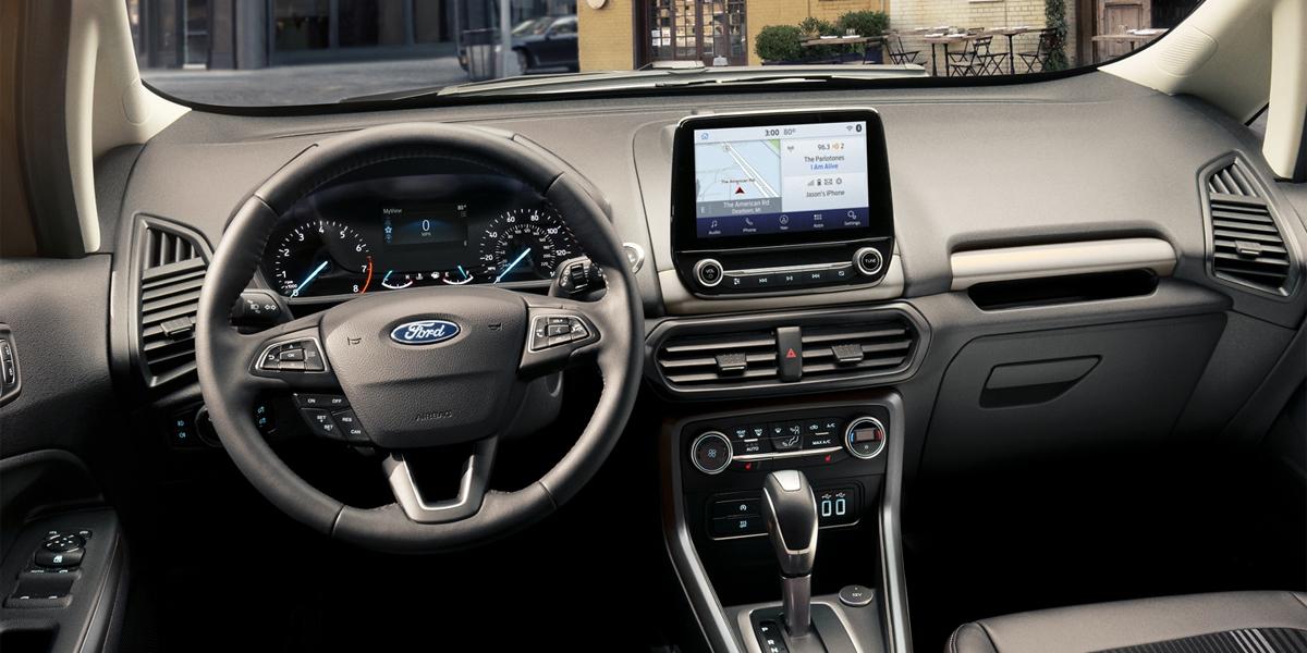 Dubuque IA - 2020 Ford EcoSport Interior
