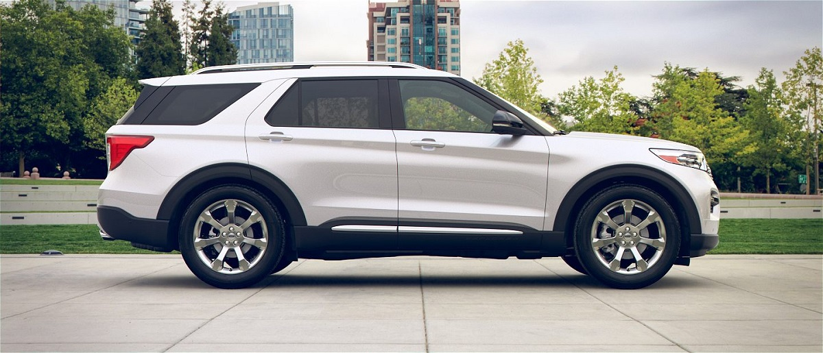 The 2020 Ford Explorer in Chino CA is a seven-seat SUV