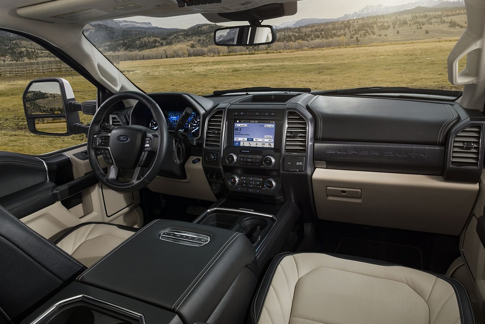 Platteville WI - 2020 Ford Super Duty Interior