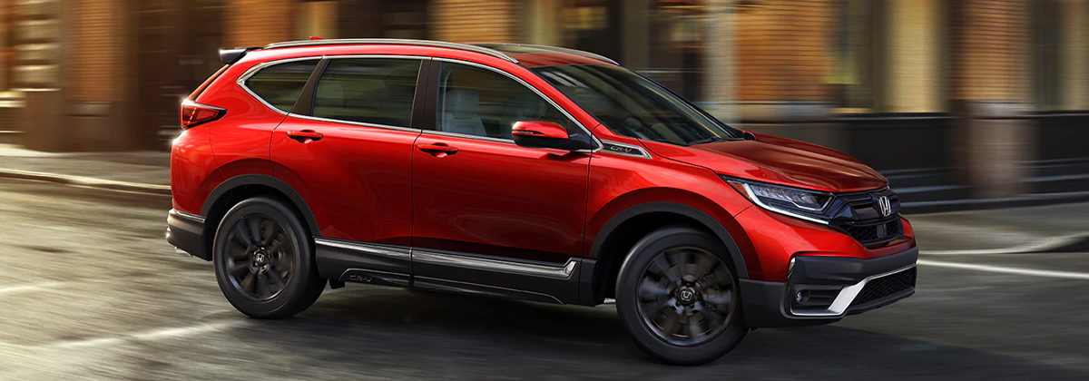 Research trim levels on a 2020 Honda CR-V near Macon GA