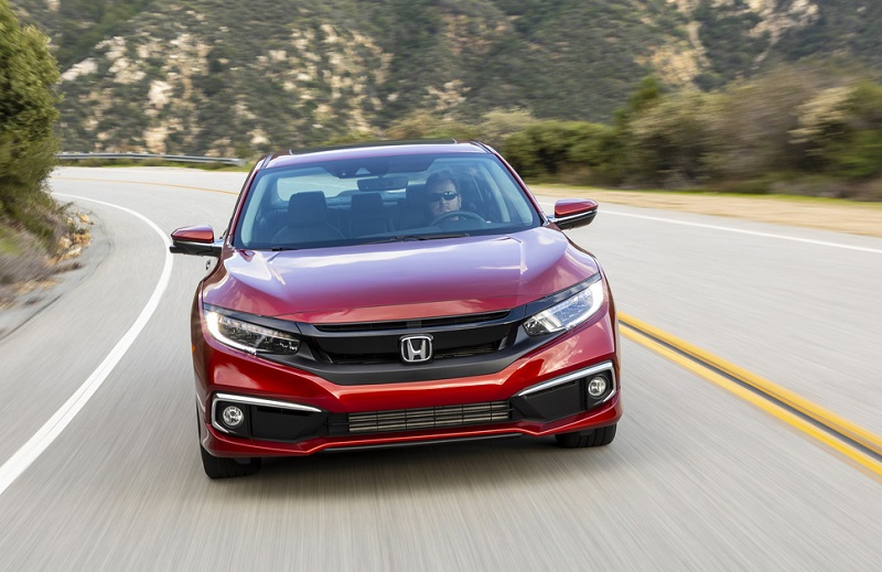 Trim levels on the 2020 Honda Civic Sedan