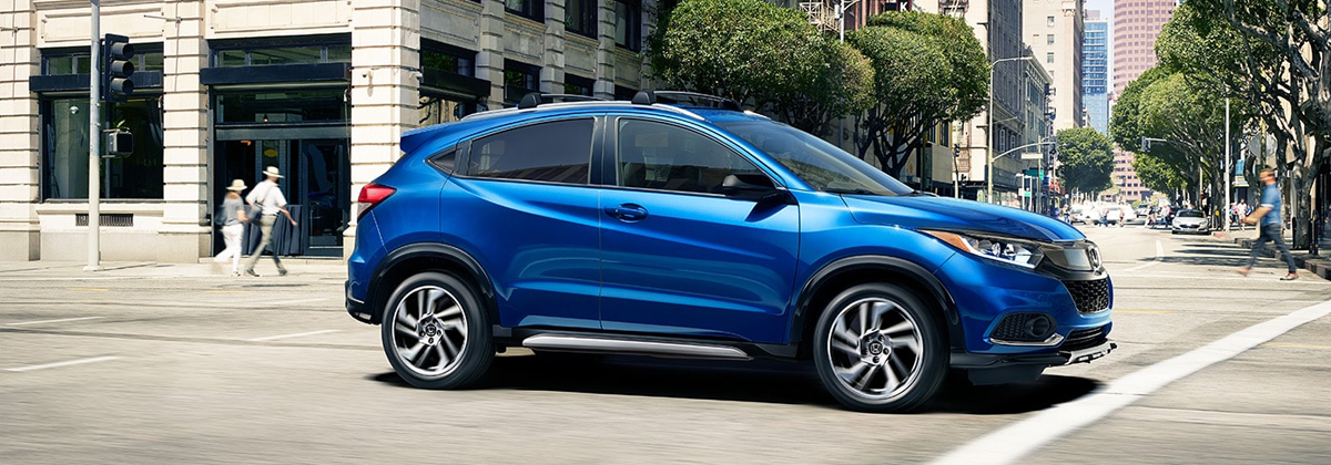 Research trim levels on a 2020 Honda HR-V near Parker CO