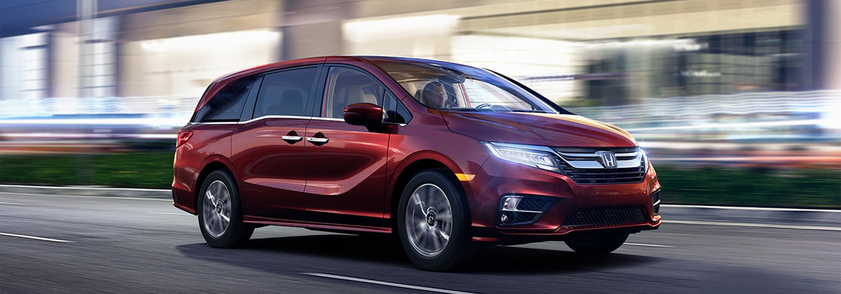 Research trim levels on a 2020 Honda Odyssey near Macon GA